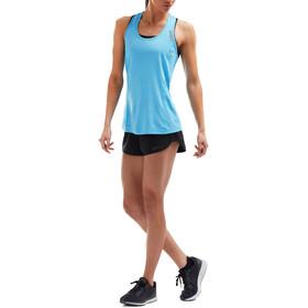 2XU XVENT - Camiseta sin mangas running Mujer - azul